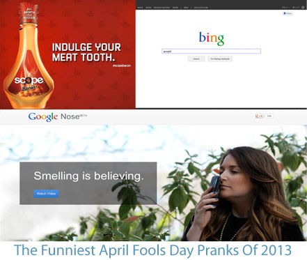 Best April Fools Pranks 2013