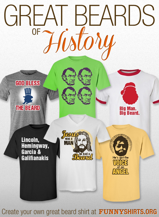 Funny Beard Shirts