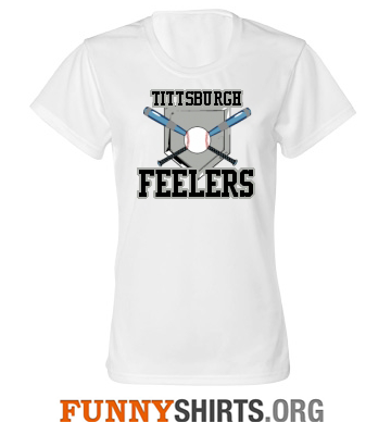 Titsburgh Funny Softball Shirt