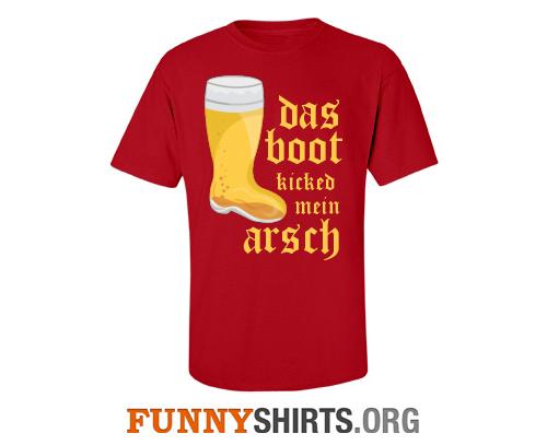 Das Boot Oktoberfest Funny Shirt