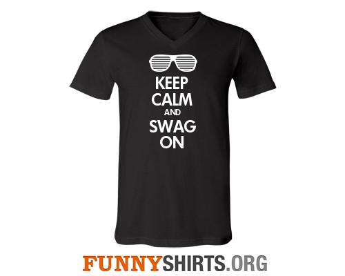 Swag on custom shirt