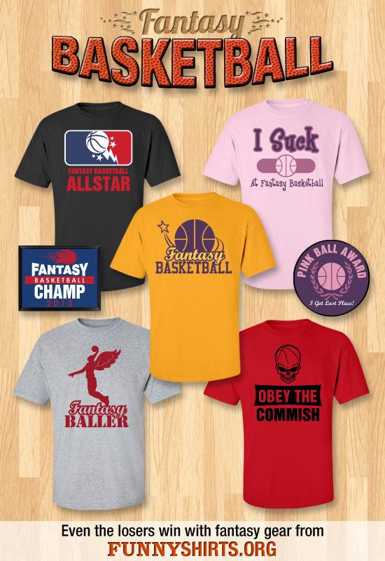 Fantasy Basketball Shirts