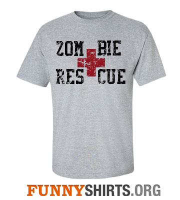 Zombie Rescue Shirt