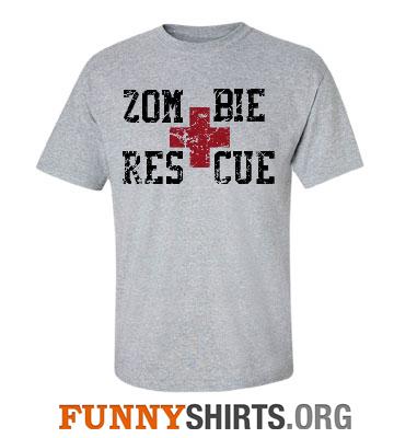 Zombie Rescue Shirt