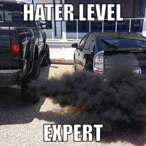Hater level