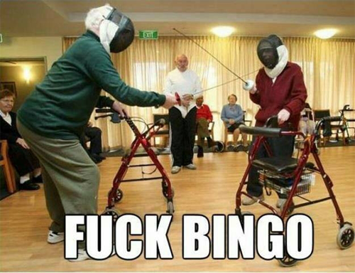 Who Needs Bingo Friday Funnies