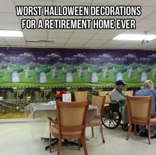 Worst Halloween Decorations