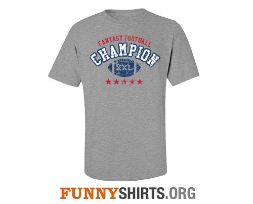 Fantasy Football Champion Shirt