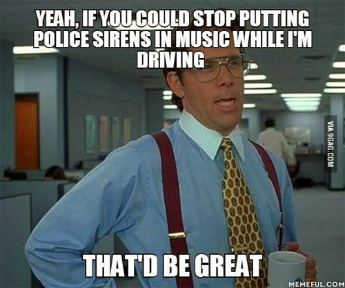 Police Sirens In Music