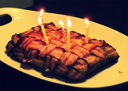 Bacon Cake