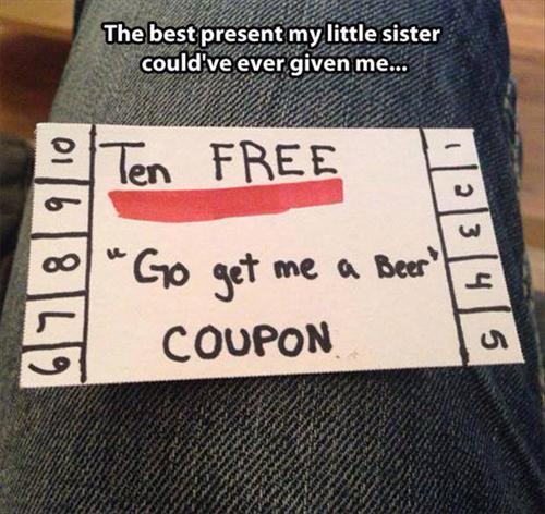 Best beer coupon