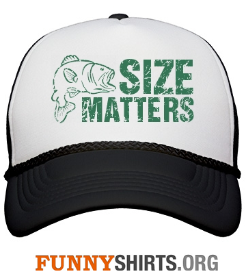 Funny hat size matters