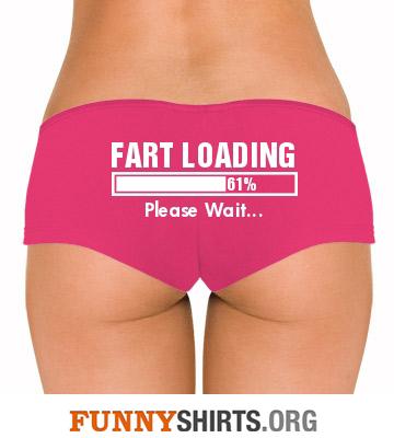 Funny Underwear Fart Loading
