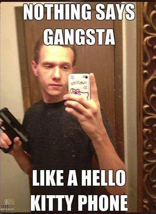 Gangsta-hello-kitty-phone