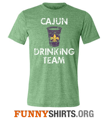 Mardi Gras Shirt Drinking Team