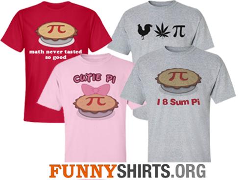 Pi Day Shirts