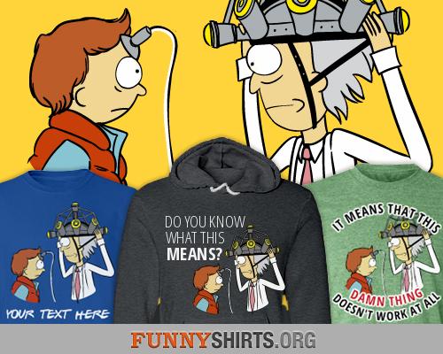 Parody Doc-Marty-Rick-Morty