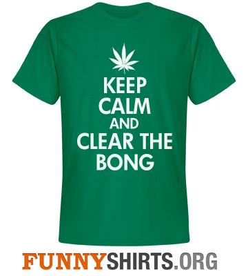 Keep Calm Clear Bong