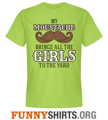 Moustache And Girls