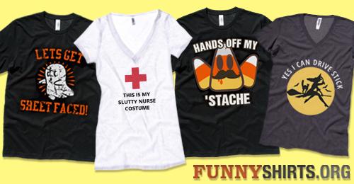 The Funniest Halloween Shirts - FunnyShirts.org Blog