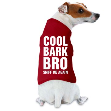 Cool Bark Bro Doggie Skins Dog Tank Top