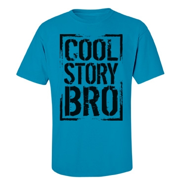 Cool Story Bro Unisex Gildan Heavy Cotton Crew Neck Tee