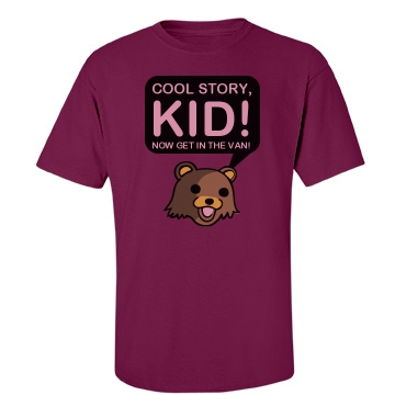 Cool Story Kid... Unisex Gildan Heavy Cotton Crew Neck Tee