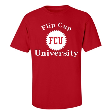 Flip Cup University Unisex Gildan Heavy Cotton Crew Neck Tee