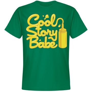 Messy Story Babe Unisex Anvil Lightweight Fashion Tee