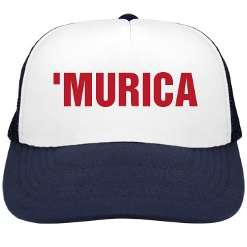 'Murica Valucap Poly-Foam Snapback Trucker Hat