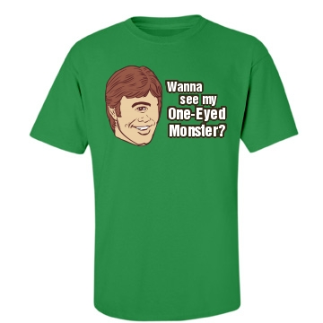 One-Eyed Monster Unisex Gildan Heavy Cotton Crew Neck Tee